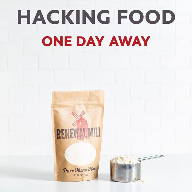 BAY AREA!! Tomorrow we'll be at HACKING FOOD 2019 to share how upcycling is hacking our food system to be more sustainable.  Interested in attending? Use code COMMUNITY to save 10% on your ticket 👉🏽 bit.ly/HackingFood2019