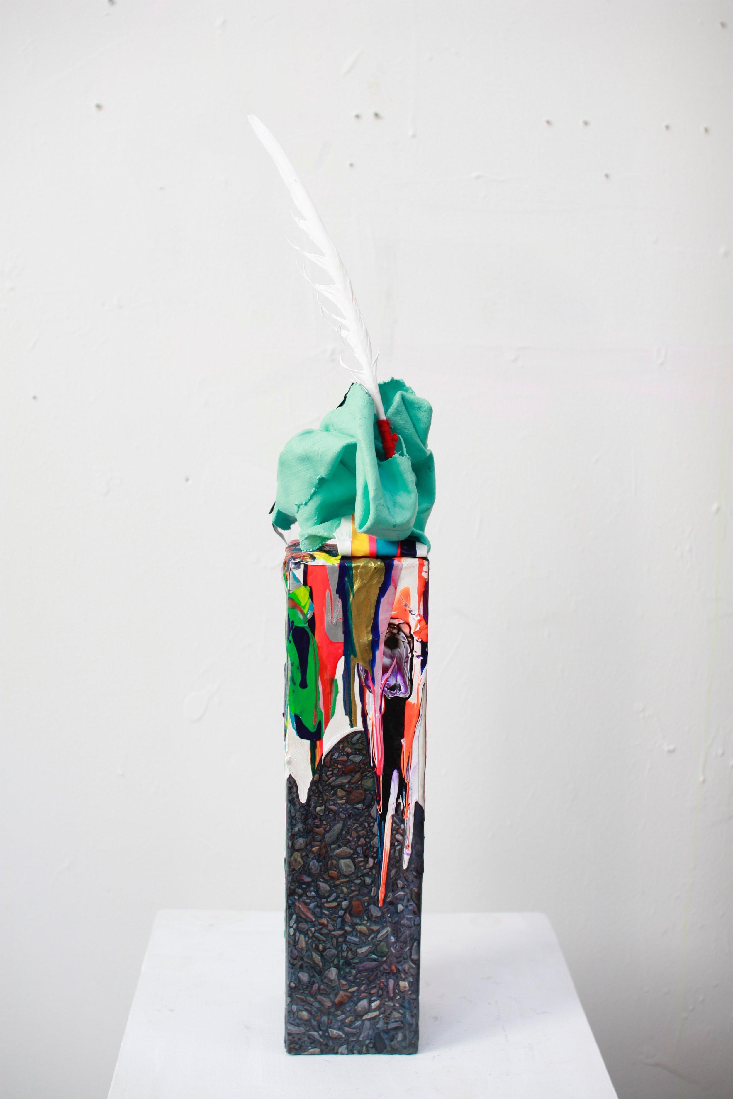 sculptures mixed media
