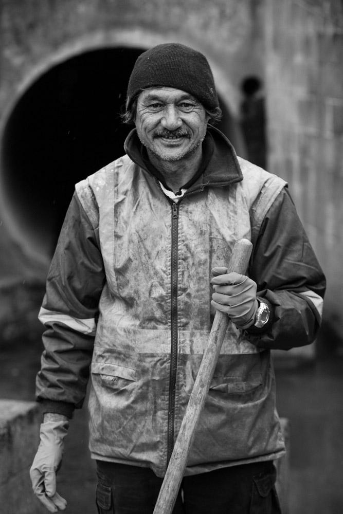 Terry Beeston, drainage engineer