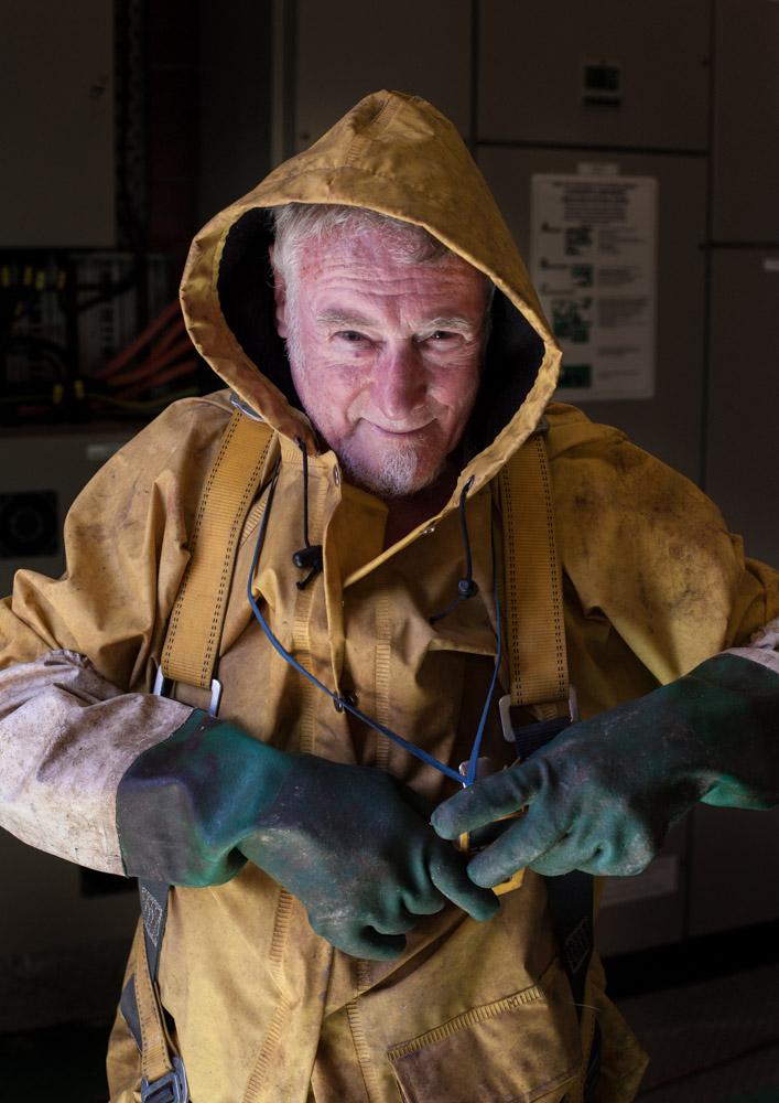 Les Woods, drainage engineer