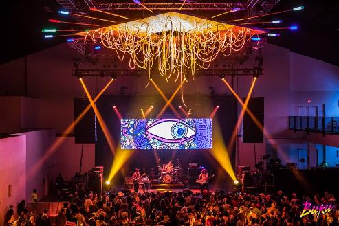 The Ballroom Stage at BUKU 2017