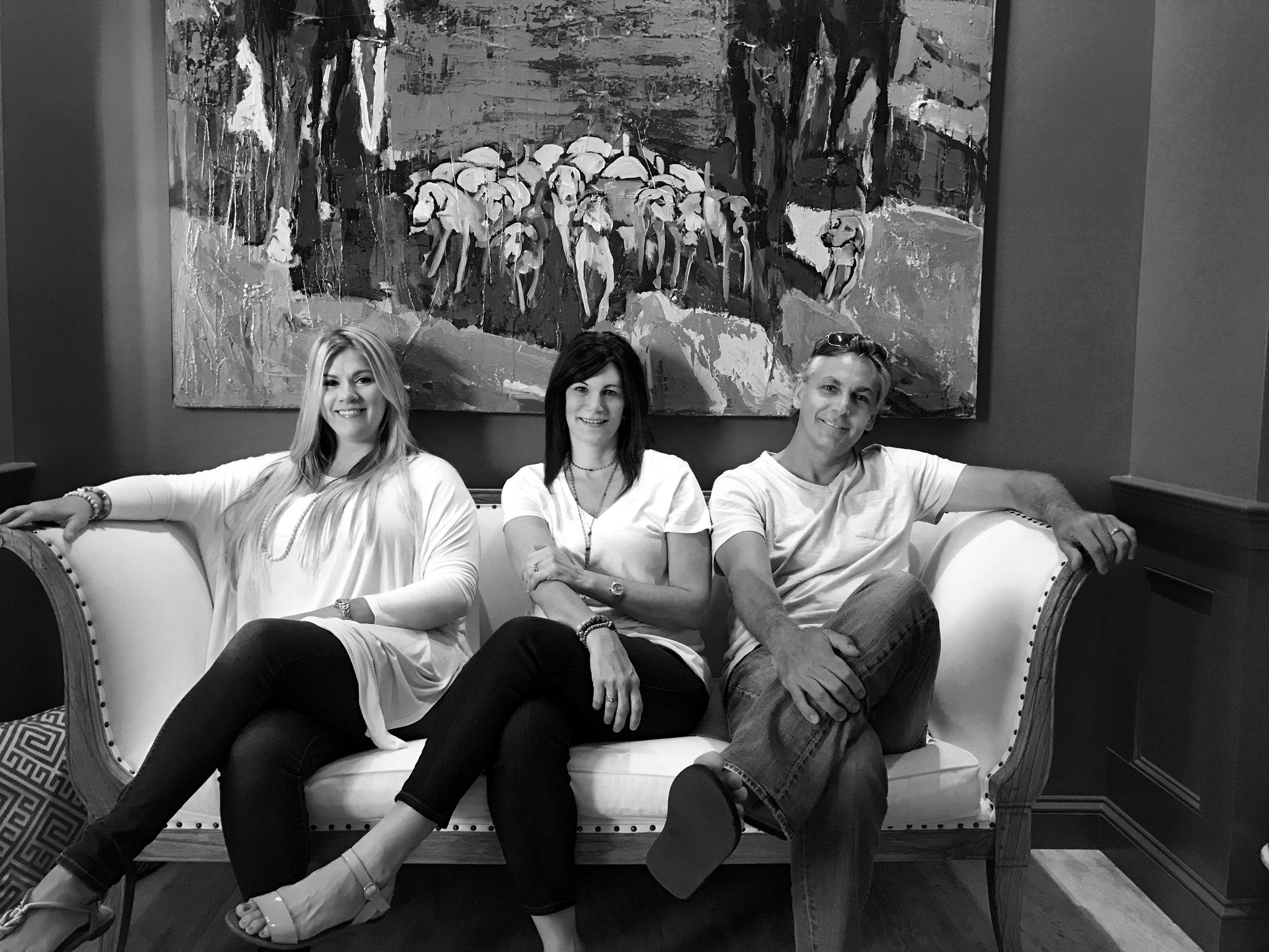 Kiley Guidry, Social Media Director | Christy Owenby, Founder & Creative Director | Paul Snow, Partner & Business Development