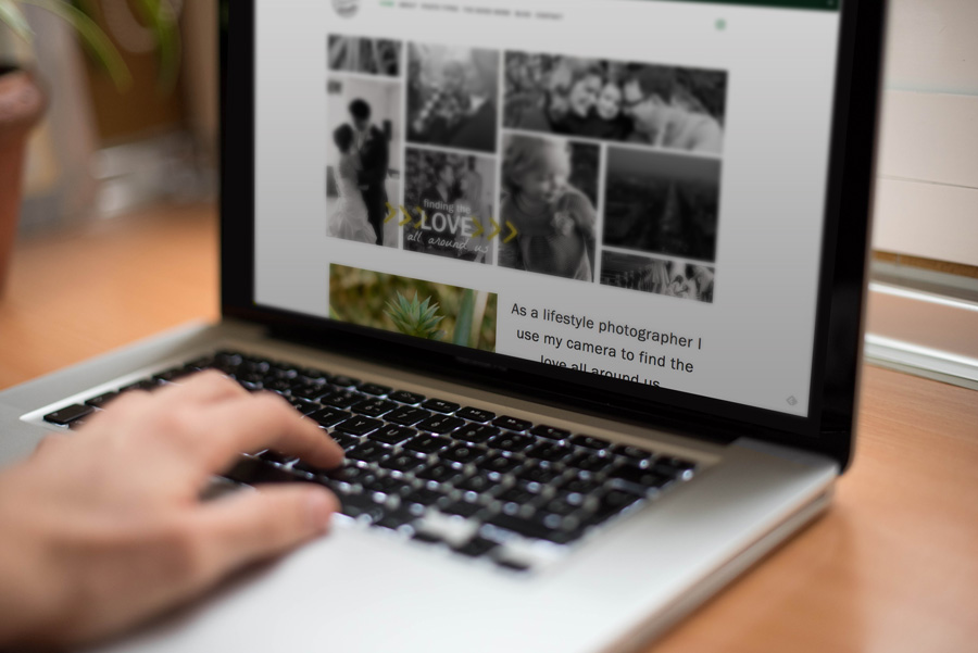 new lifestyle photography website