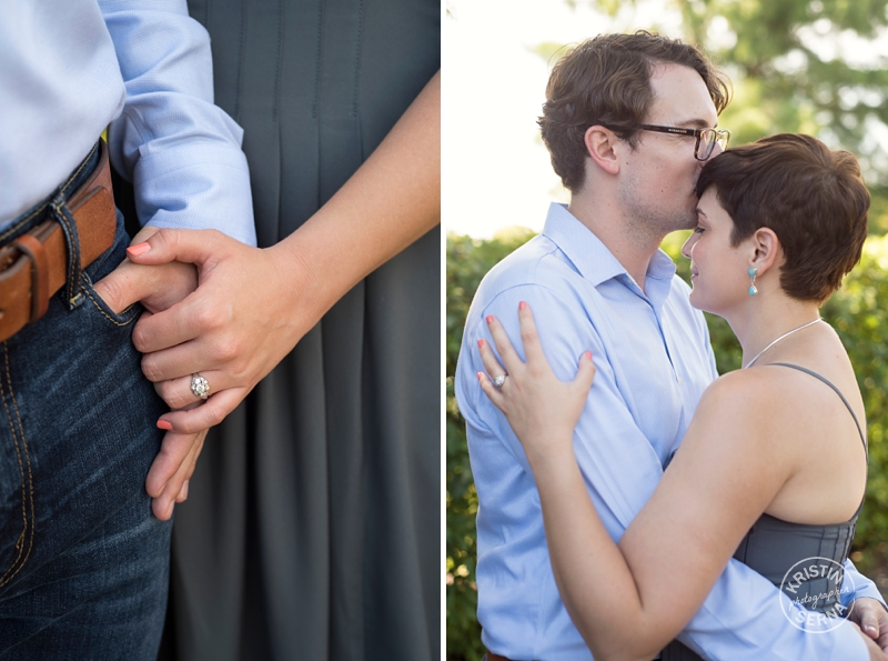 Chicago Outdoor Engagement Photos by Kristin Serna