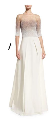 Ombre Wedding Dress Idea
