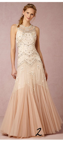 Ombre Wedding Dress Inspiration