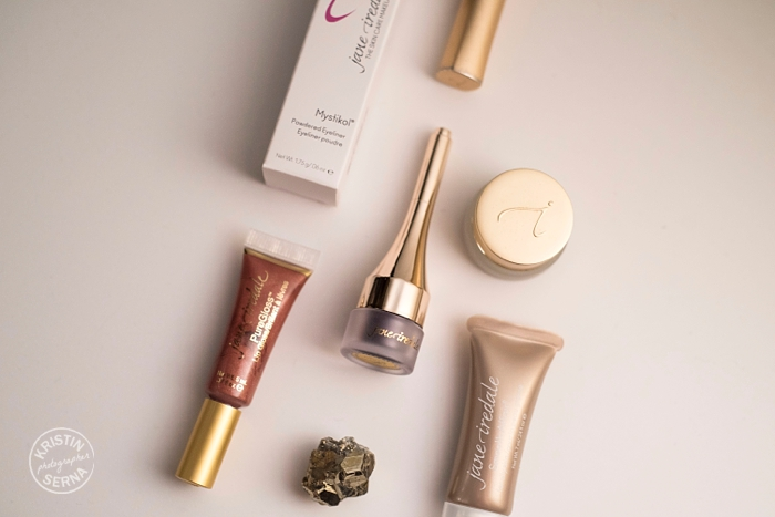 Jane Iredale makeup, photographed by Kristin Serna