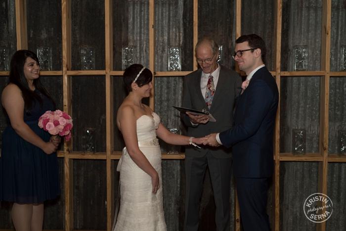 Intimate Wedding Ceremony Photography by Kristin Serna