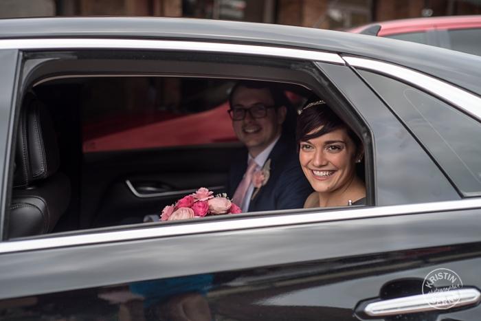 Wedding Exit. Photography by Kristin Serna