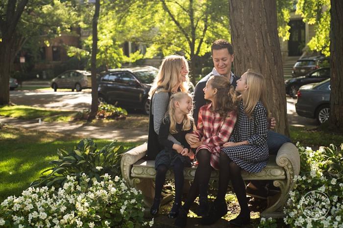 Chicago Family Portrait by Kristin Serna