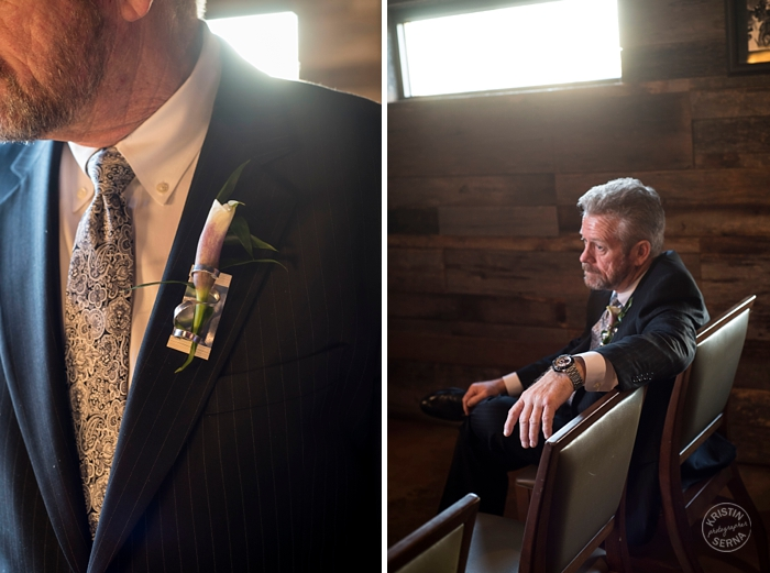 Groom Preparing for the Ceremony - Intimate Wedding Photography