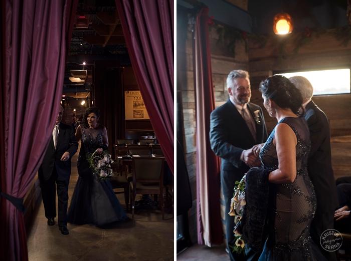 Restaurant Wedding Venue - Intimate Wedding Photography