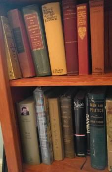 Books from my bookshelf.
