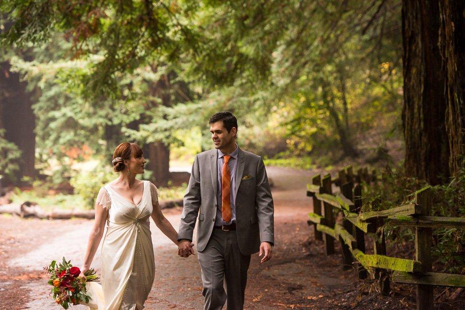 Oakland Redwood Regional Park wedding