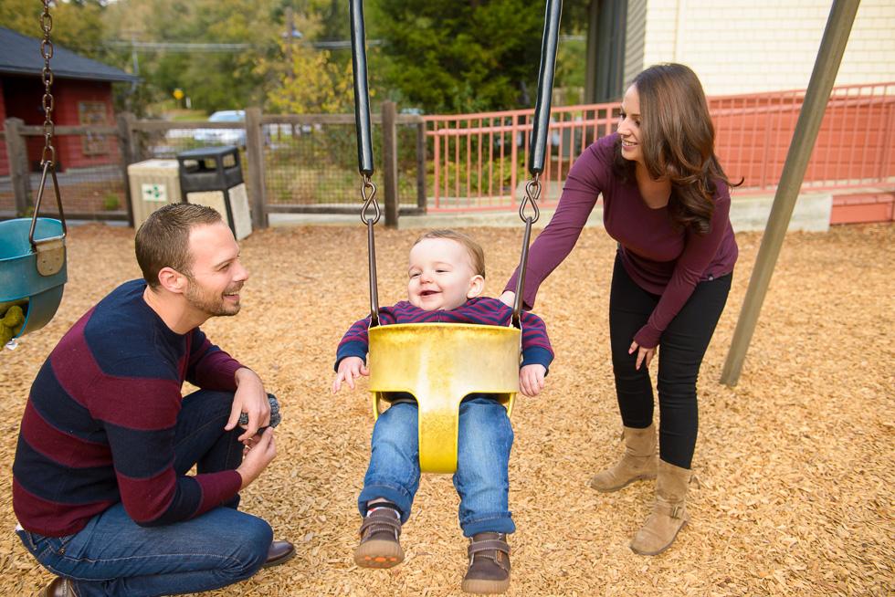 Portola Valley family photography