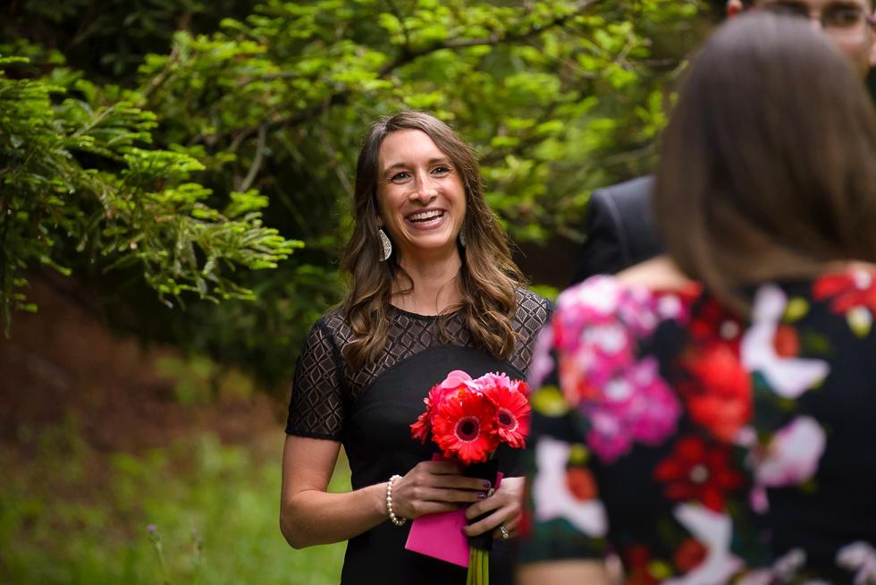 Joaquin Miller Park wedding