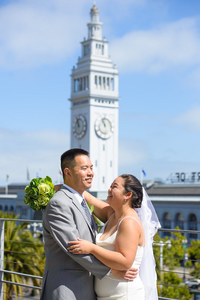 Ferry Building wedding photography