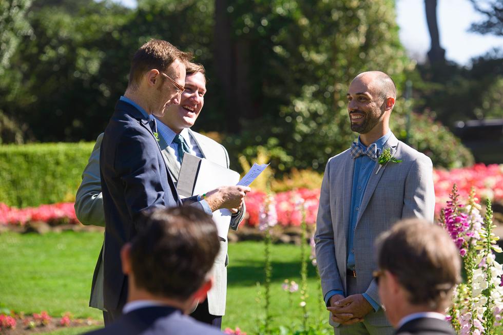 Queen Wilhelmina Tulip Garden wedding