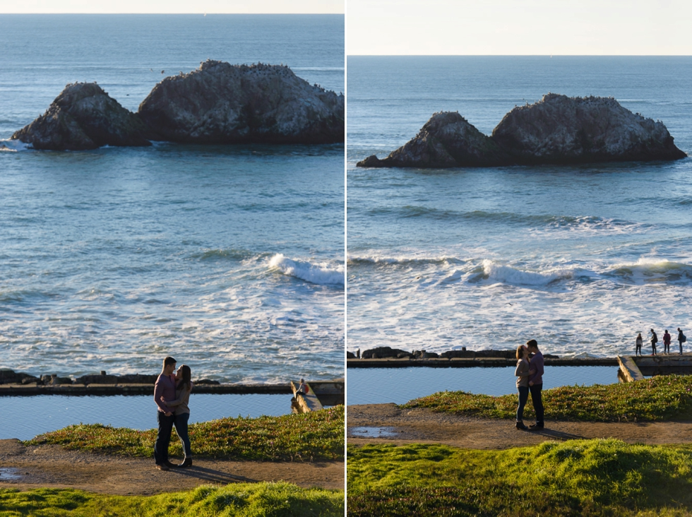 Land's End Engagement Photography