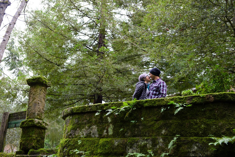 Sanborn County Park engagement