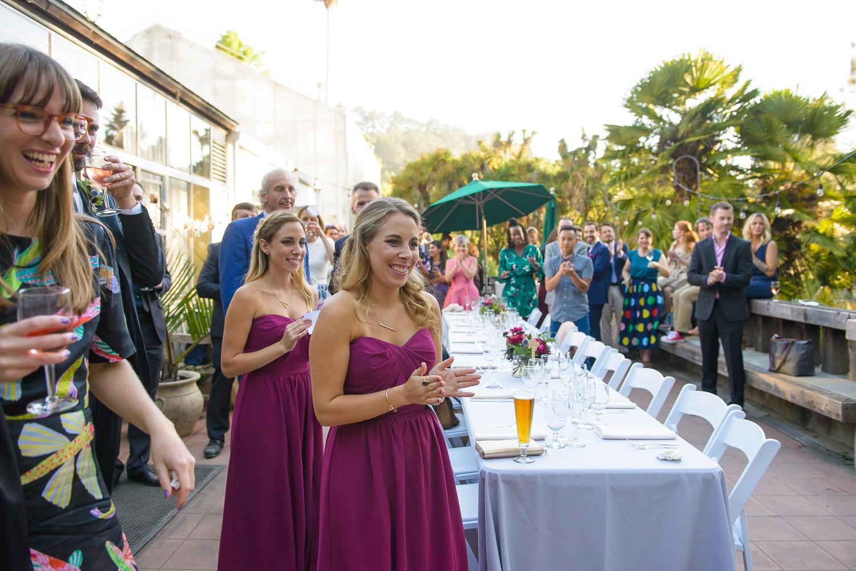 UC Berkeley Botanical Garden Conference Center wedding