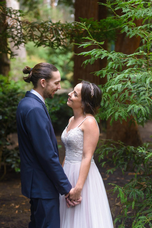 Stern Grove wedding reception