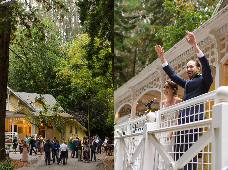 Wedding celebration at the Trocadero House