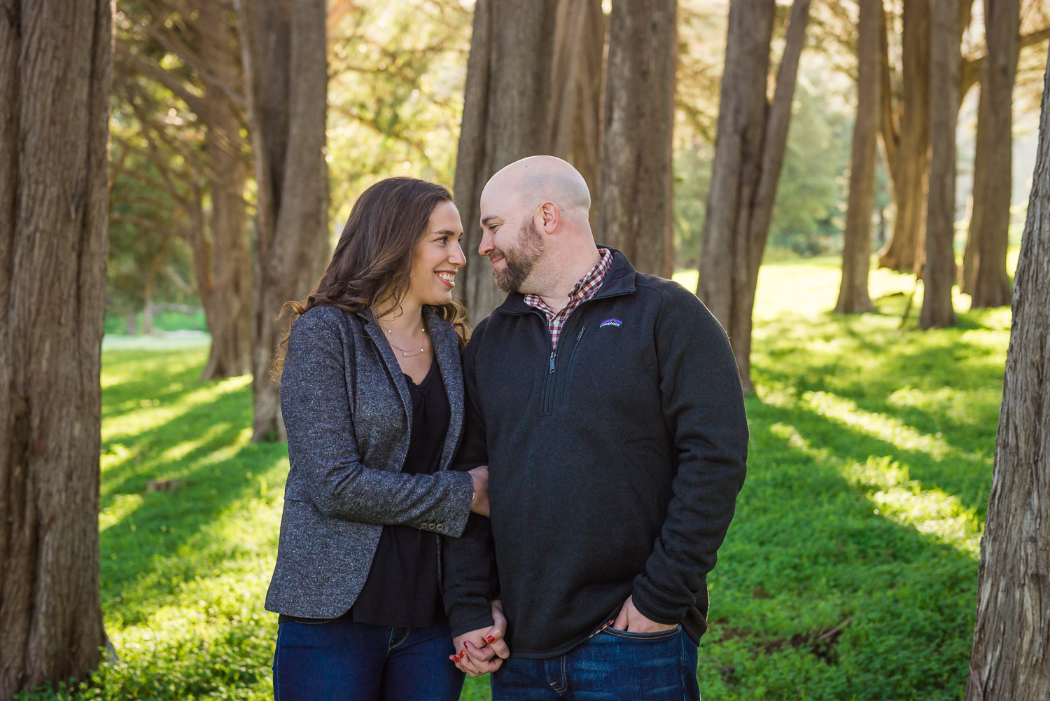 Sausalito engagement photography