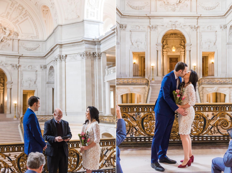 Mayor's Balcony wedding ceremony