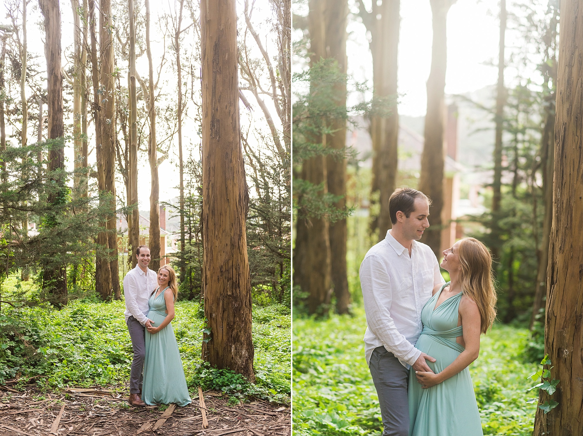 Wood Line maternity photography