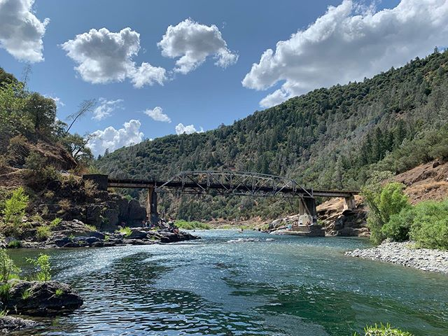 The Ponderosa bridge. A wonderful spot for summer swimming and the start of the toughest section of the 2019 #flannelgrinder