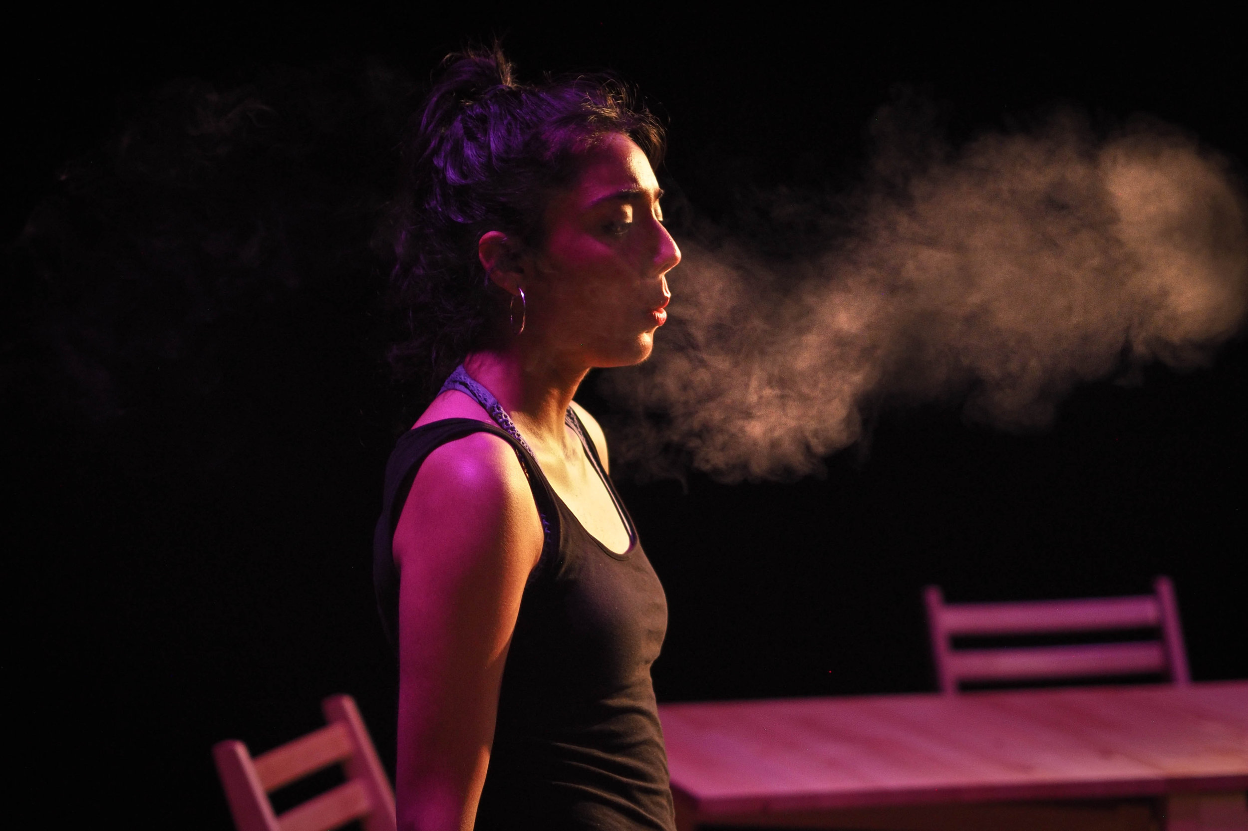 Meara Khanna as Leyna. Photo: Magnus Berg