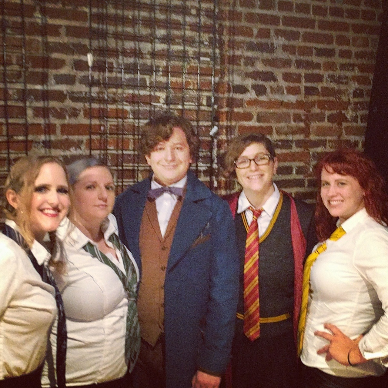 Misbehavin' Maidens and their Cabana Boy for the night, Newt Scamander