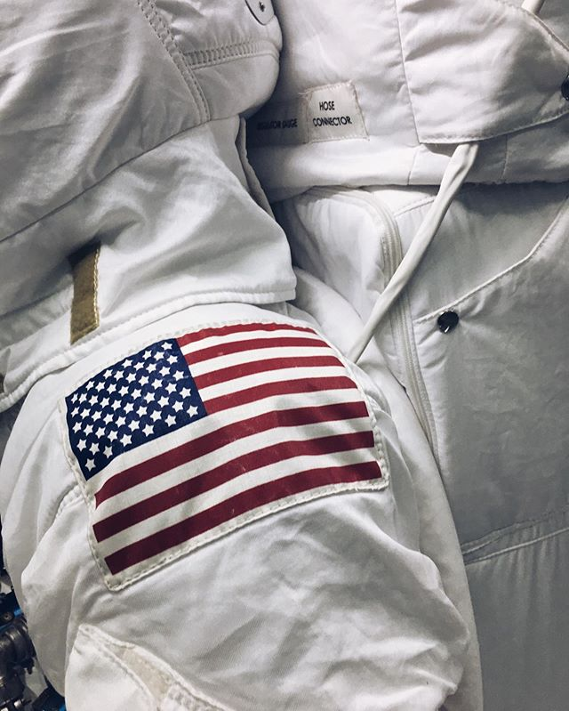 No one born after 1935 has worn a suit like this on another world. #apolloprogram