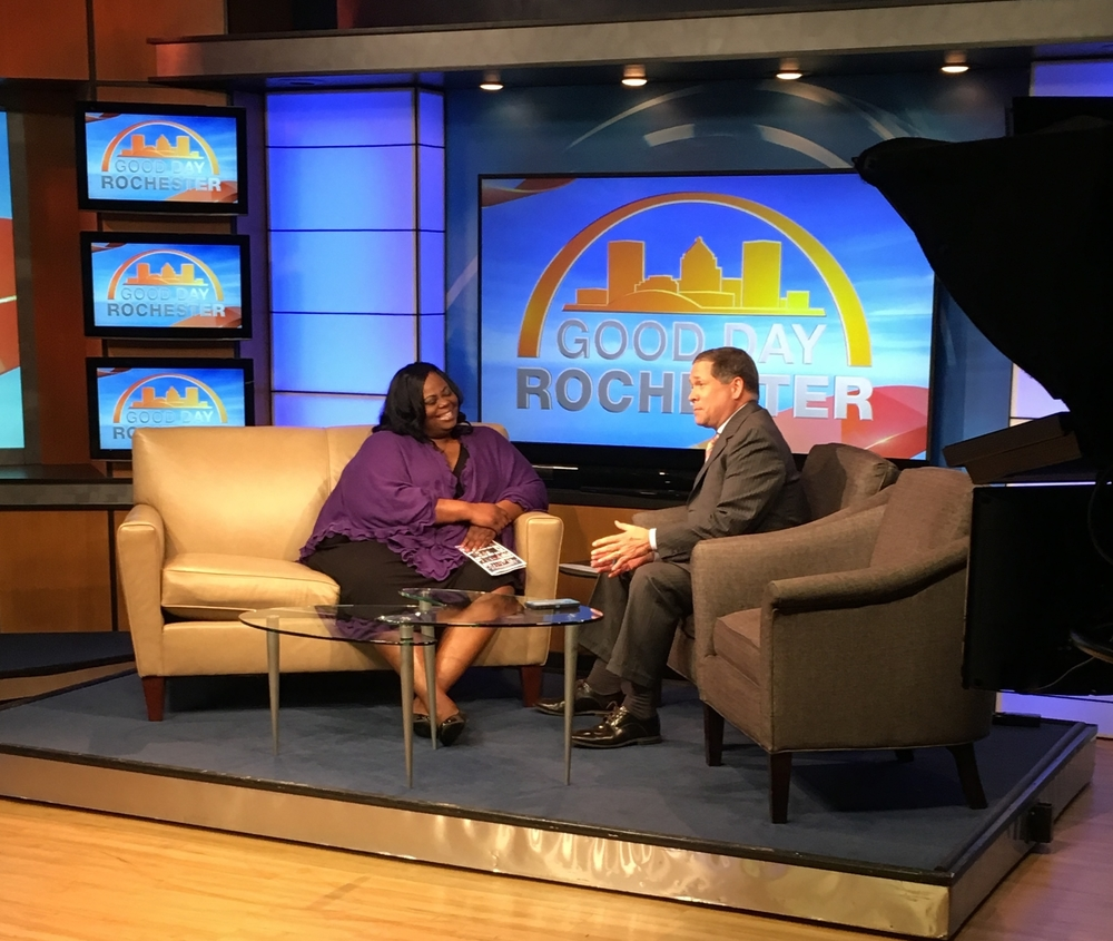 MJS Productions interview on Good Day Rochester for the Artist Showcase and Award Presentation featuring Mathew Knowles
