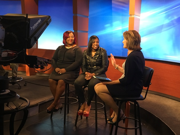 Photographer LaQuisha Bridges-Smith and iROC Women Founder, Camille McIntyre interview with Rebecca LeClair on the iROC 100 Women Photo Shoot
