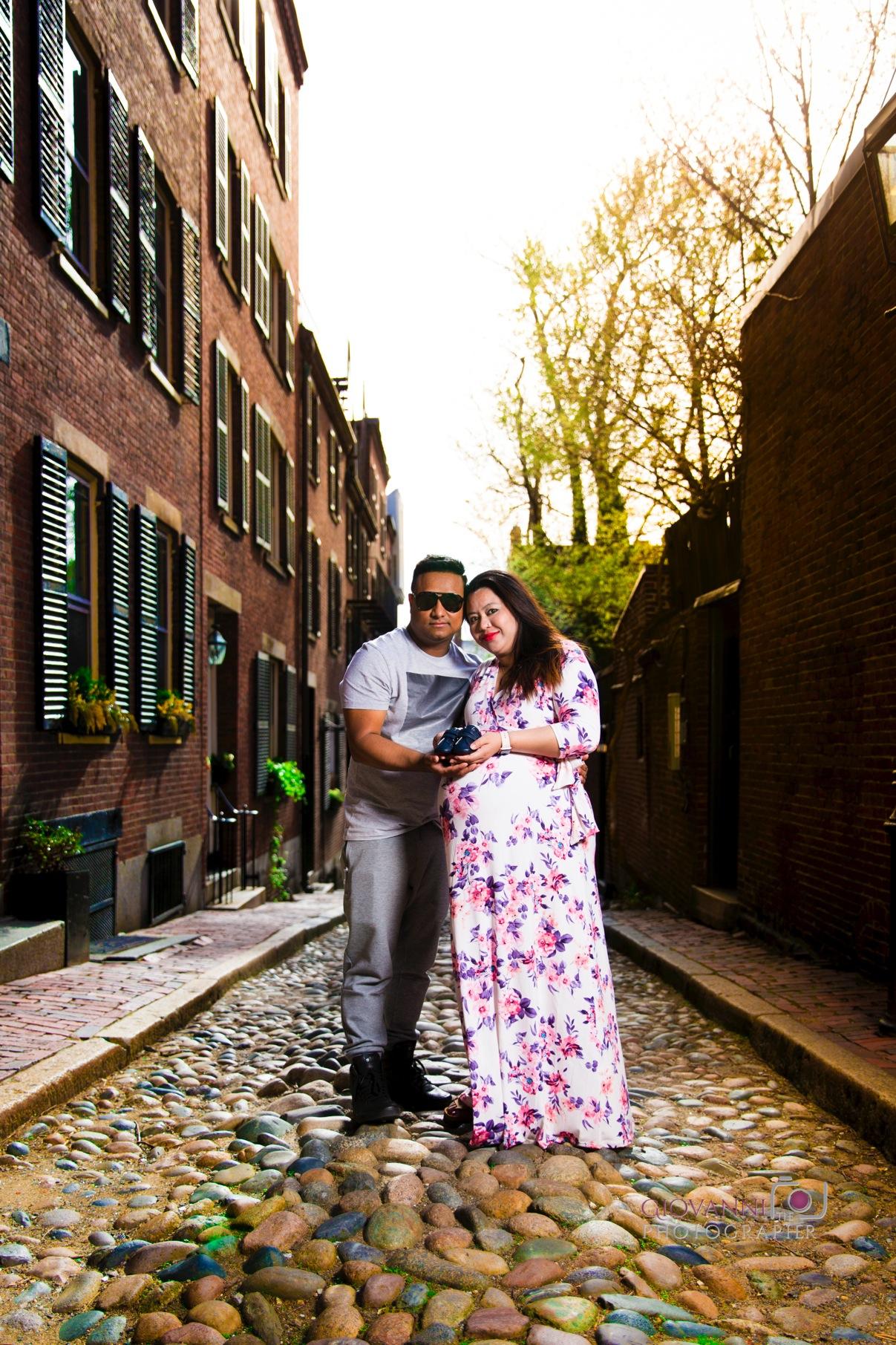 8C2A6060 Giovanni The Photographer Boston Engagement - Maternity - Newborn Photography Vikrant & Rtunasnet WM 35.jpg