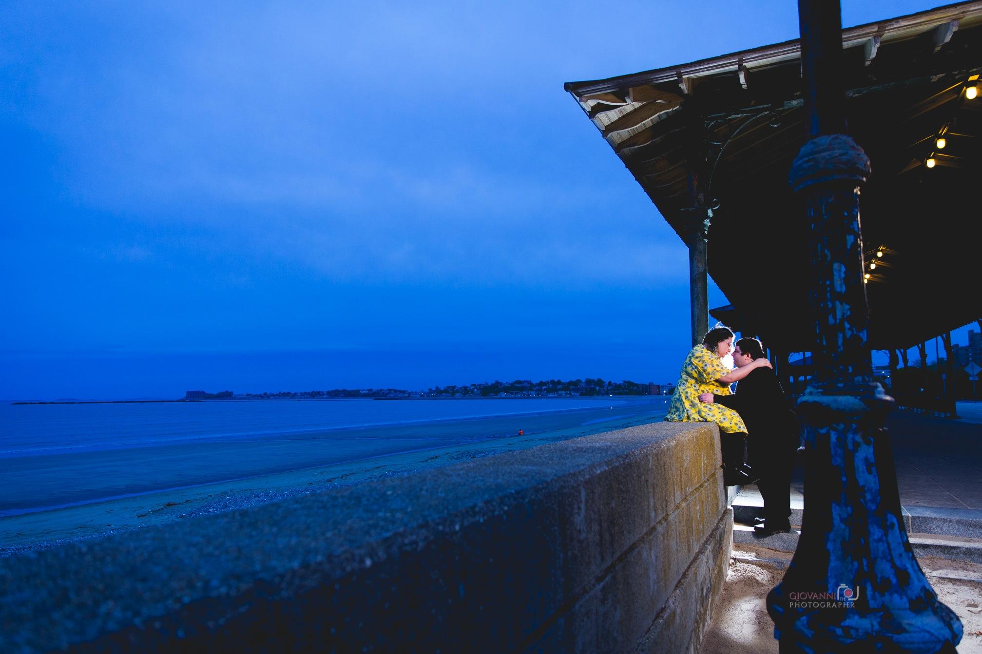 8C2A8566 Giovanni The Photographer Boston Engagement Phohotgraphy Revere Bridge - Megan and Andrew WM35.jpg