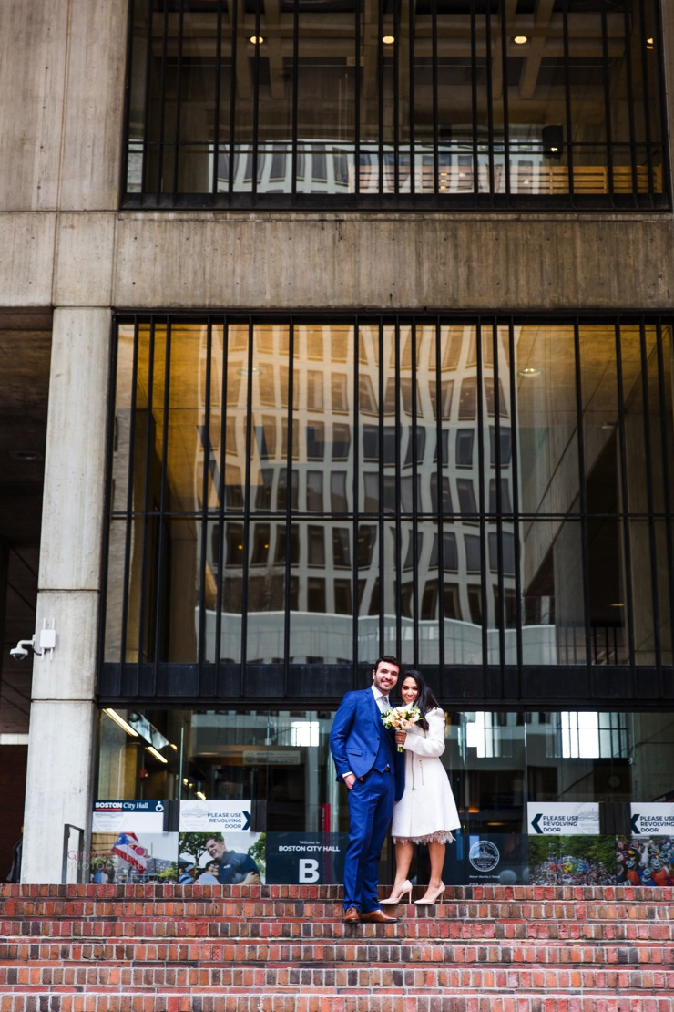 8C2A8904-Giovanni The Photographer-Wedding Photography in Boston-City Hall Elopement - Christopher Columbus Park WM20.jpg