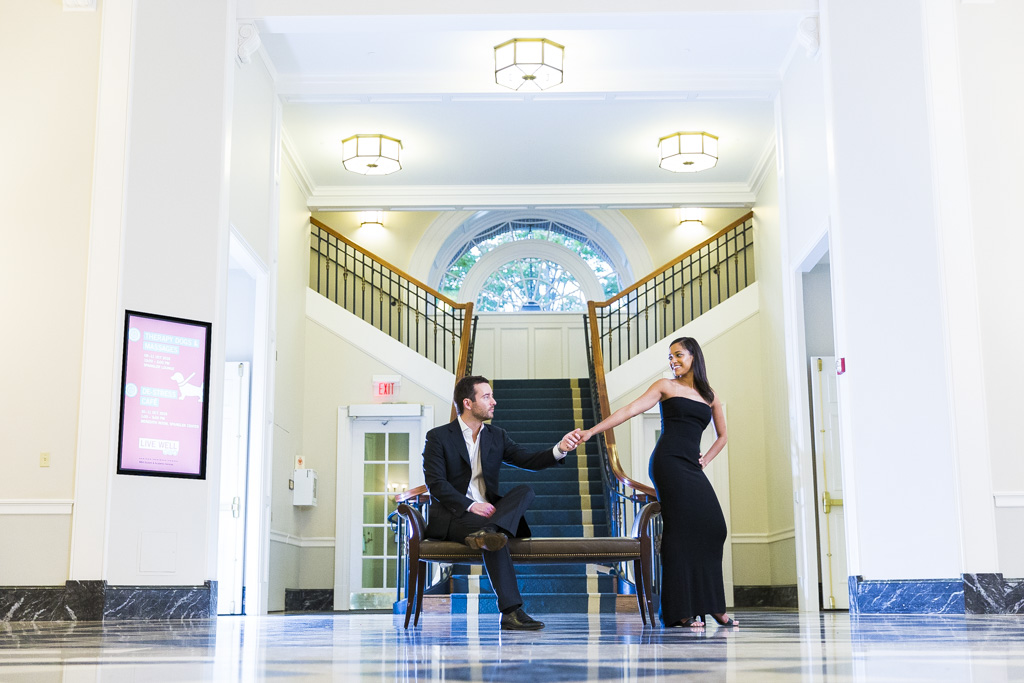 Harvard Business School Engagement Session Cambridge, MA | Julisa and Stephen