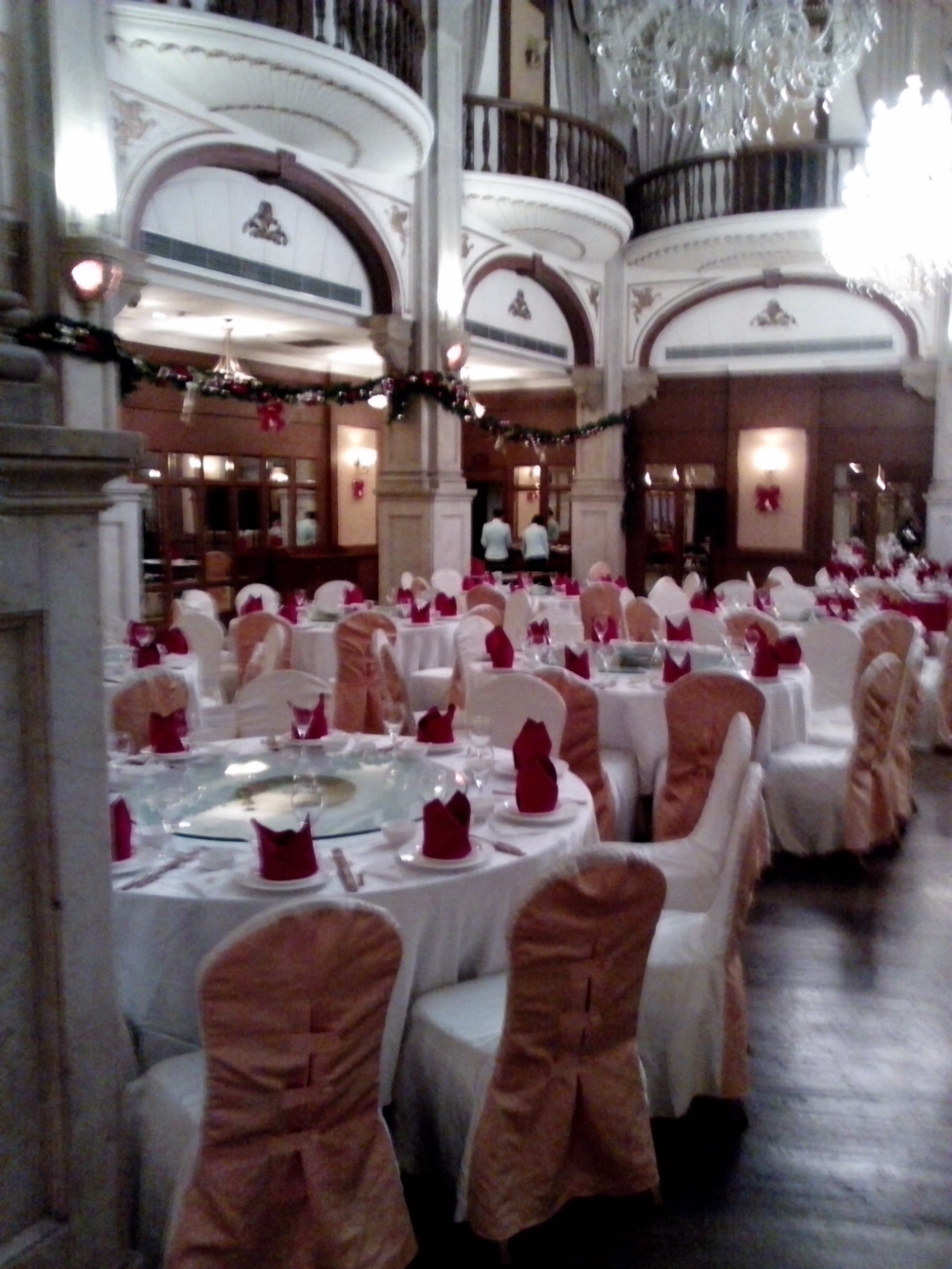 Astor House Hotel ballroom view