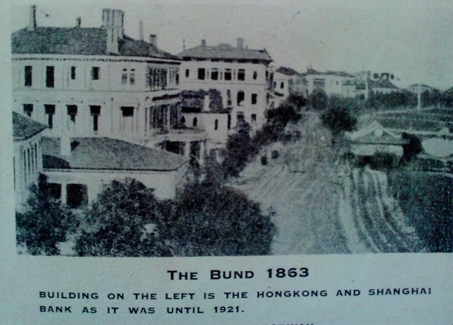 The Shanghai Bund 1863