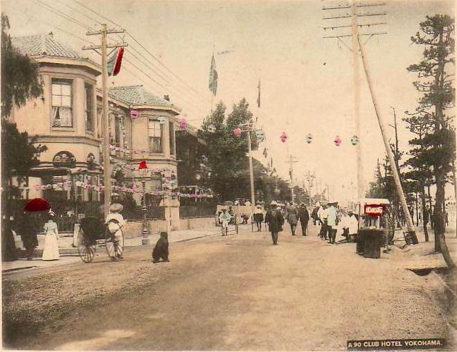 Yokohama Bund