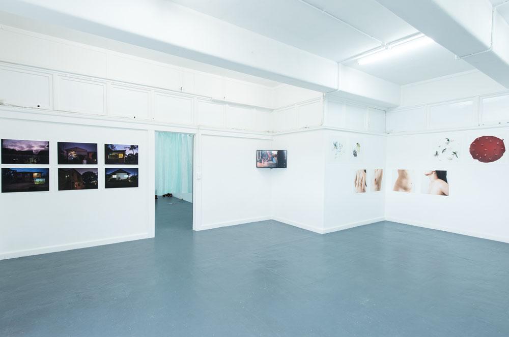 Installation view Blindside | photo Nick James Archer & Blindside