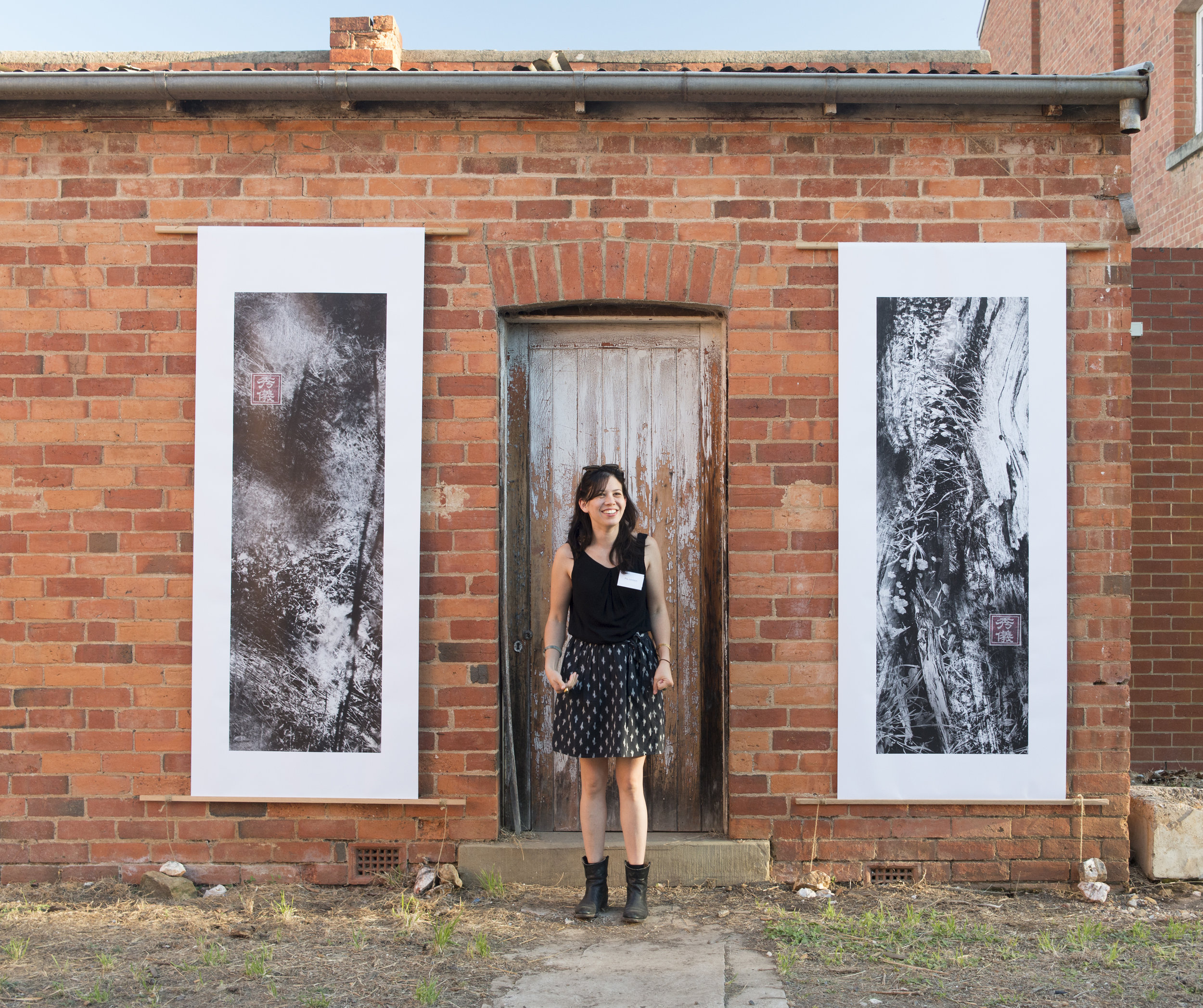 Artist talk.  Installation at Castlemaine State Festival, photo Christine Sayer