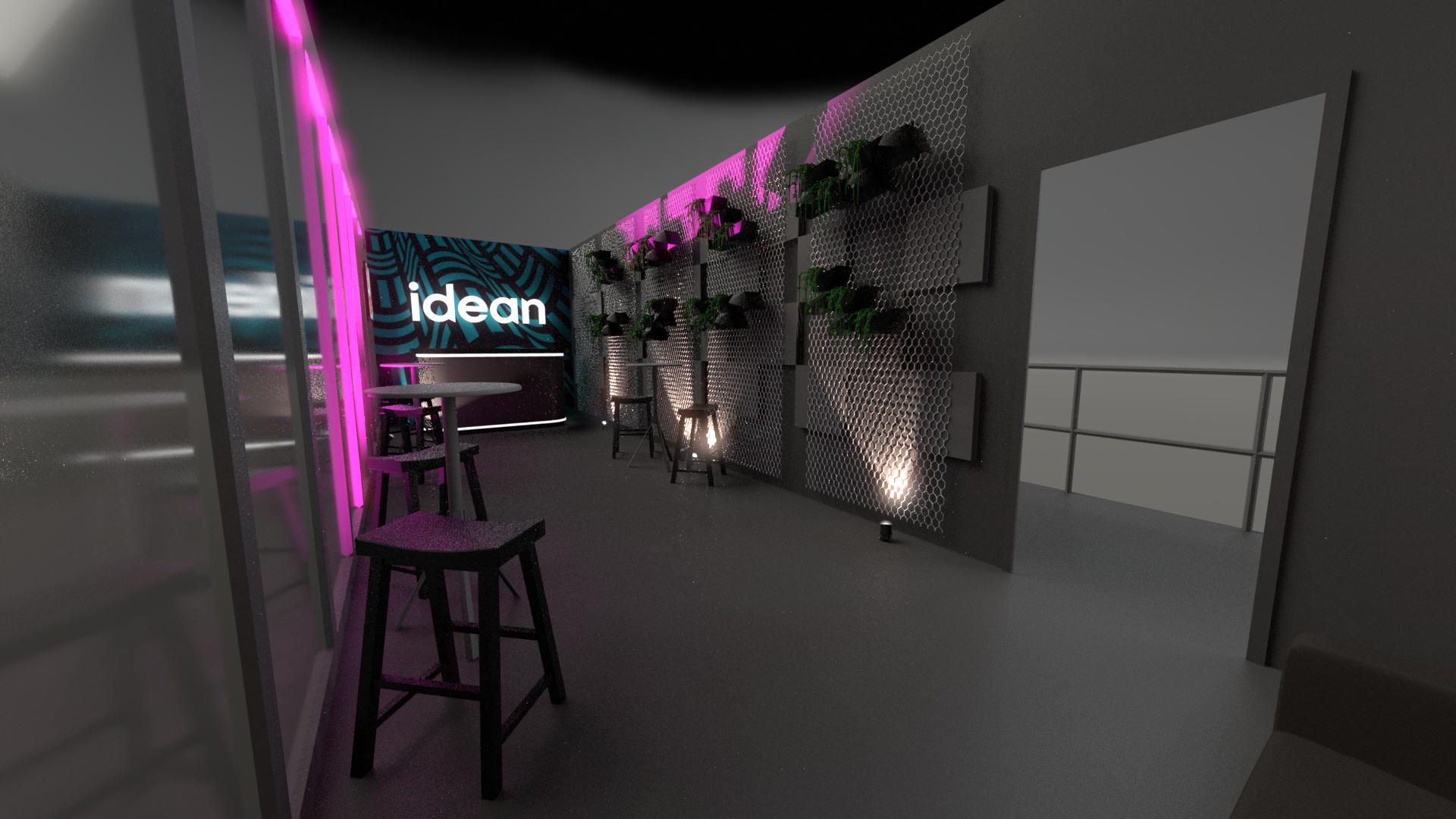 Idean Slush Booth Design