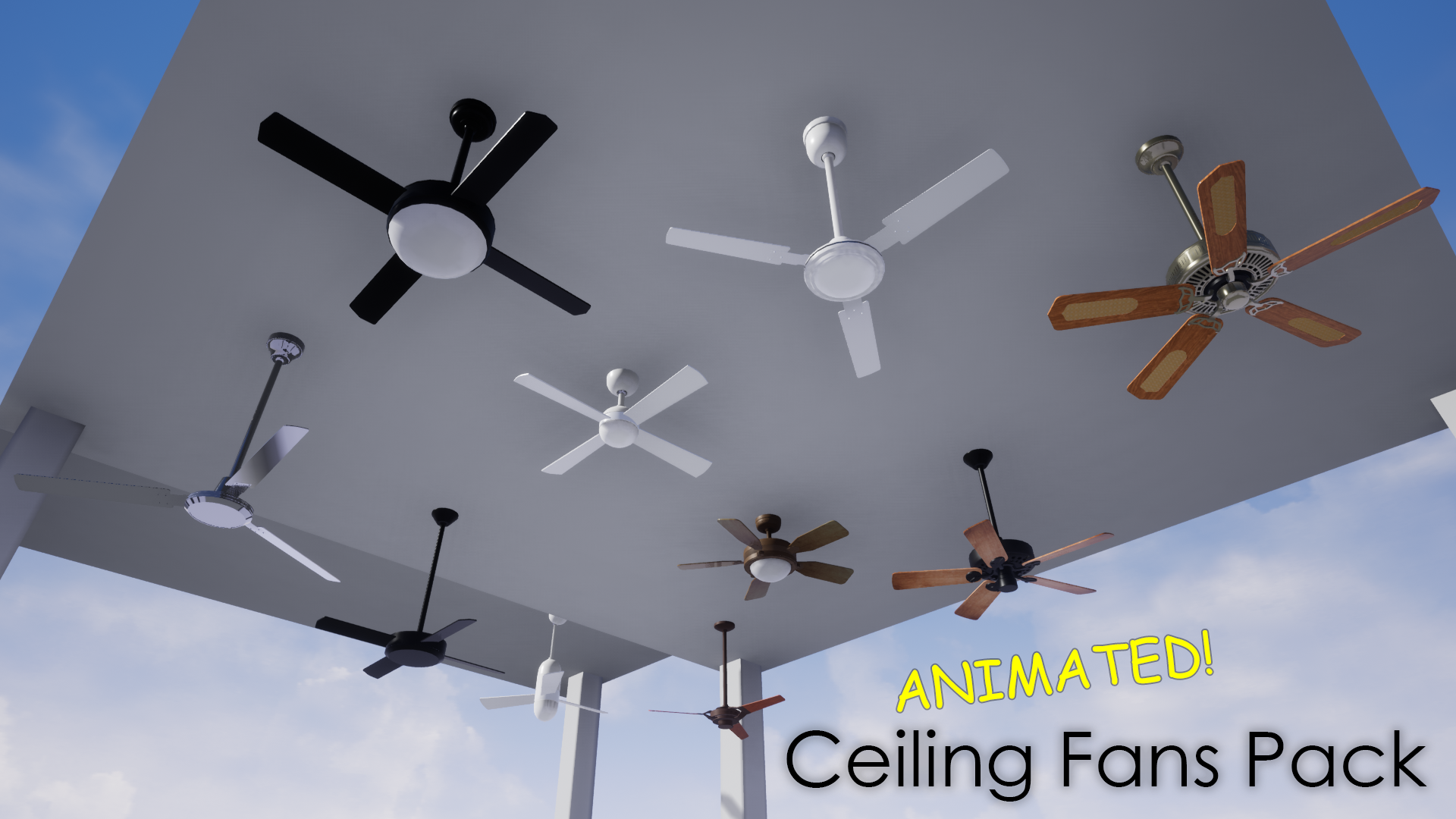 Ceiling Fans Pack - Now available!
