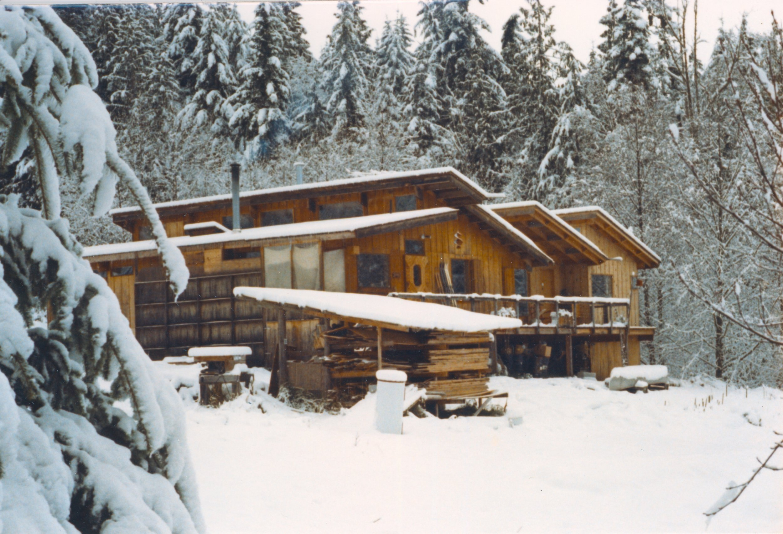 Robert's custom, sustainable, hand-built house in Sequim, WA