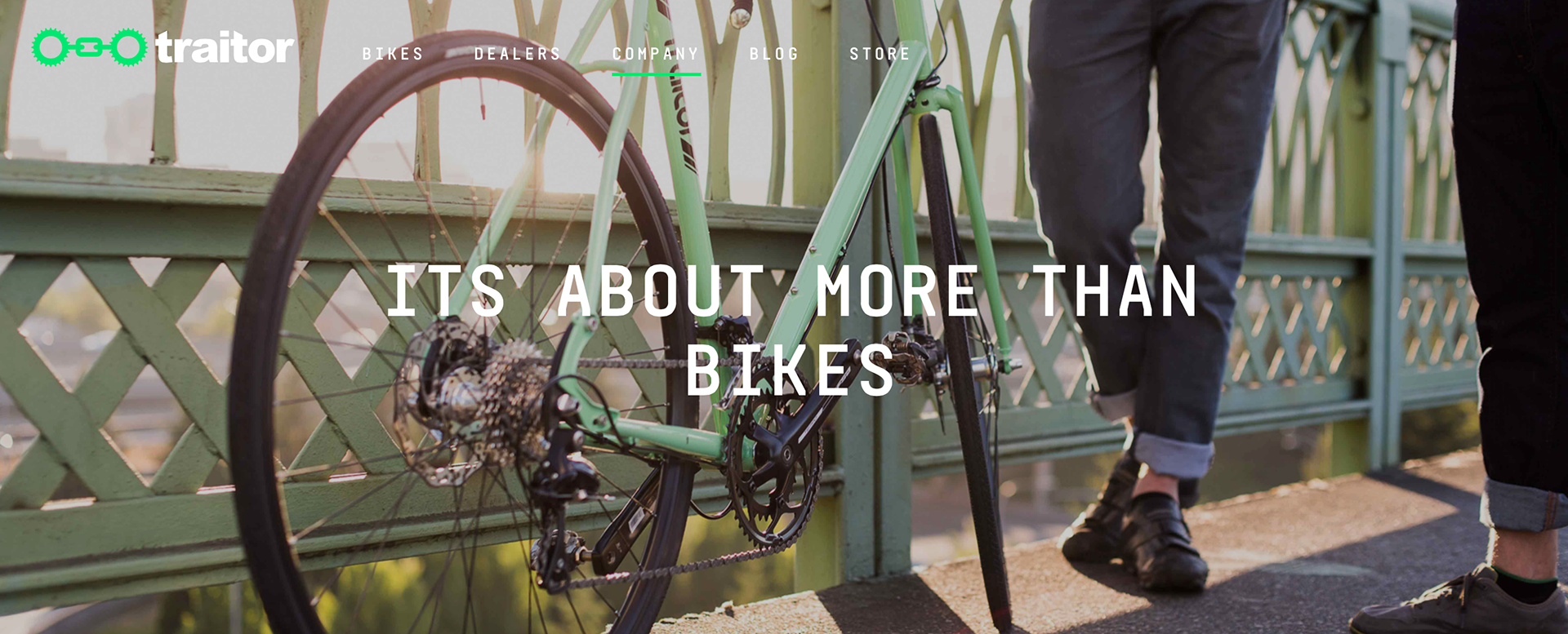 Case Study: Traitor Cycles Brand and Site Development   Strategy/Content/Execution