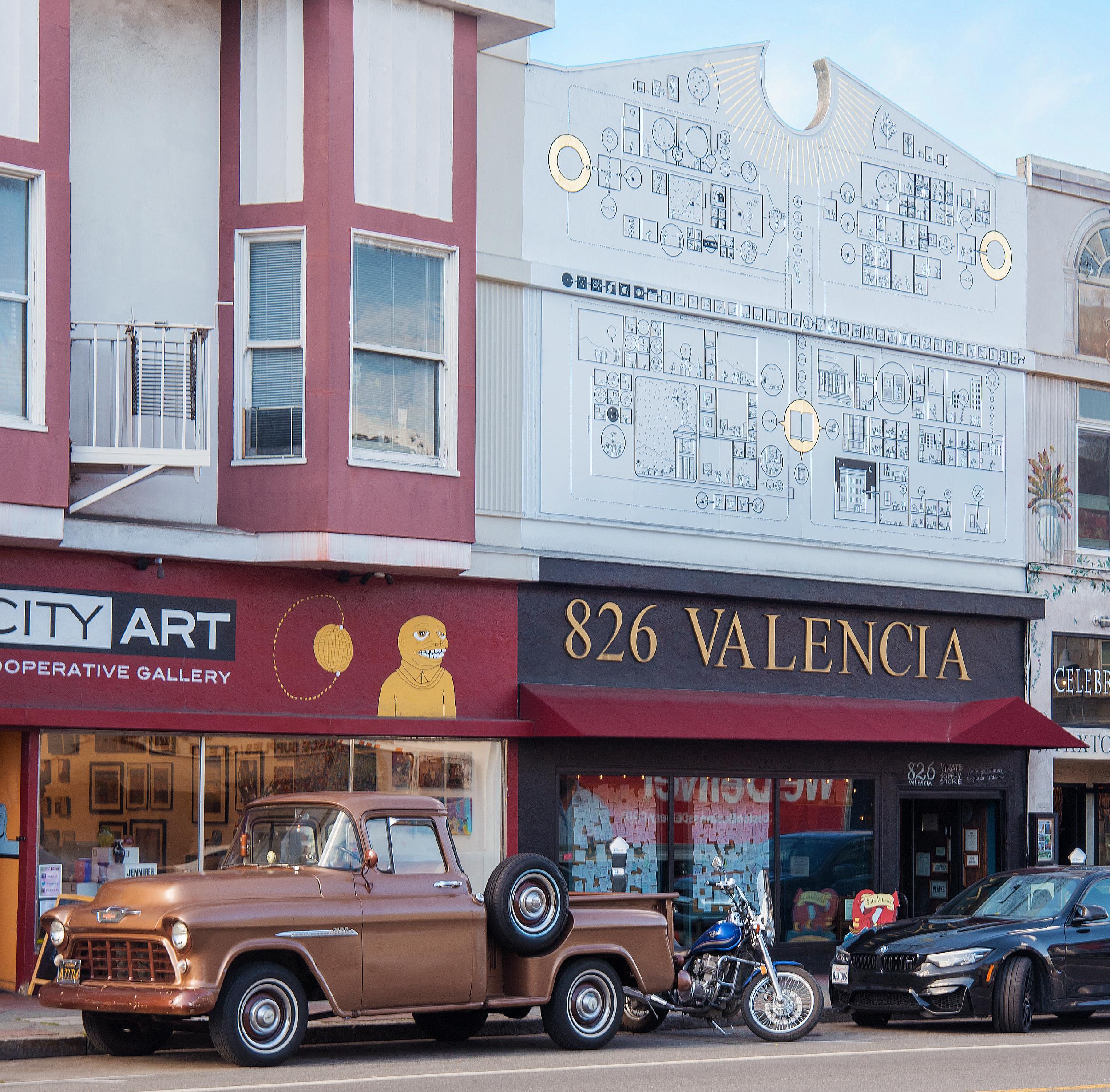 826 Valencia Retail Store